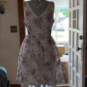 Light and beautiful dress